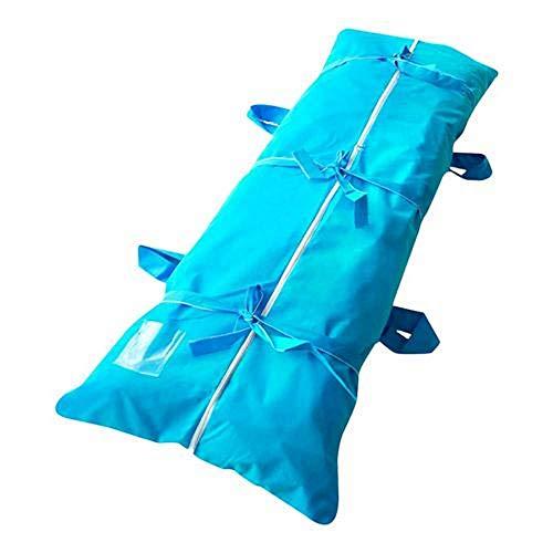 zhangfengjiao Draagbare Body Bag Stretcher Combinatie met zijgrepen, Waterdichte Slaapzak voor Outdoor Camping, Wandelen
