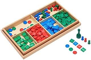 Adena Montessori Montessori Stamp Game & PVC problem paper