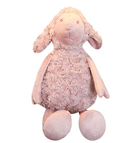hzwh Lovely Stuffed Pink Sheep Plush Toys Soft Lamb Carpet Kawaii Mat Animal Plush Pillow Cushion Doll Valentine Gift For Girls Lover 55cm