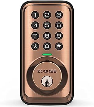 Zomoss Electronic Deadbolt Keyless Entry Door Lock