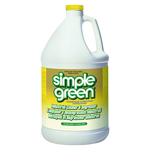 Simple Green Industrial Cleaner & Degreaser, Concentrated, Lemon, 1 gal Bottle
