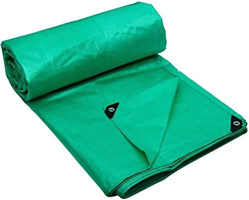 FFJD Large Tarp Green PE Waterproof Tarpaulin for Sun and Rain Anti-oxidation Mildew Proof Tear Resistance Green 10m×12m-10m×12m