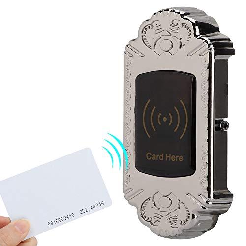 Elektronische Kabinettsperre elektronisches Intelligente Keyless Lock RFID-Sperre mit ID-Karteninduktionssperre Geeignet für Aktenschränke, Schränke, Büros, Saunen