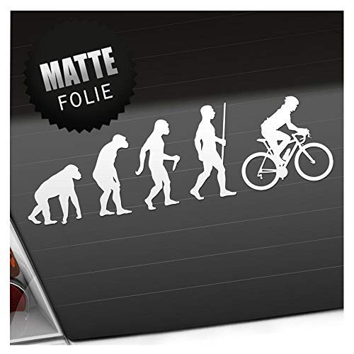 Kiwistar Rennrad Fahrrad Evolution Aufkleber Sticker 25 Farben Neon Matt