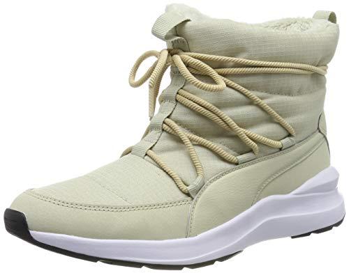 PUMA Adela Winter Boot, Botas de Nieve Mujer, Beis (Overcast White), 38 EU