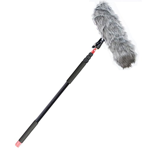 Nicama Boompole Para Micrófono Rode NTG-1, ntg-2, ntg-3, ntg-4, Audio-Technica AT897, atr6550, Sennheiser MKH-416, ME66/K6, MKE-600, AZDEN SGM-1 X, ECM-CG50