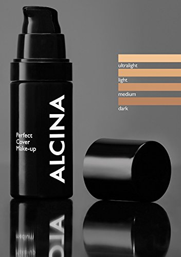 Alcina Perfect Cover Make-up dark 30 ml Für perfekte Deckkraft & ein makelloses Erscheinungsbild 30 ml