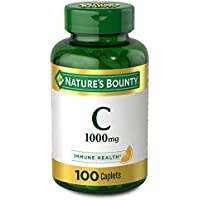 100-Count Nature's Bounty Vitamin C Immune Support Caplets 1000mg