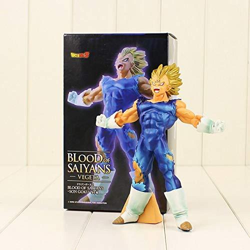 Romantic-Z 18 cm Dragon Ball Z Vegeta Figur Spielzeug Super Saiyan Dämon Vegeta Majin PVC Action Figure Modell Sammlung Spielzeug für Geschenke mit Box