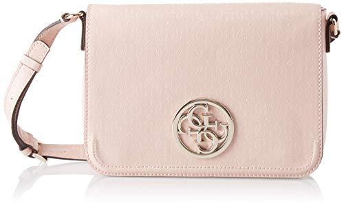 Guess Damen Kamryn Kuriertasche, Pink (Rose/Ros), 25.5x19x6 centimeters