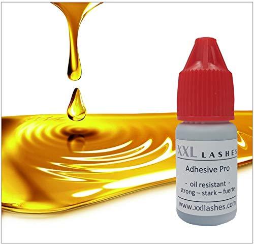 """Colle à Cils XXL Lashes """"Pro"""" – résistante à l'huile, imperméable, végétalien, un adhésif résistant au séchage rapide pour une longue tenue - 5ml"""