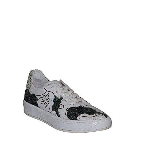 Felmini - Damen Schuhe - Verlieben Trump B010 - Sneakers - Echtes Leder - Mehrfarbig - 40 EU Size