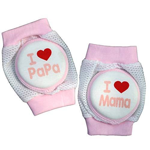Aisoway Baby Crawling Antirutsch Knieschützer Beinwärmer-Sicherheits-Schutzabdeckung Breath Elbow Kneepads Socken Für Kleinkind-Jungen-Mädchen