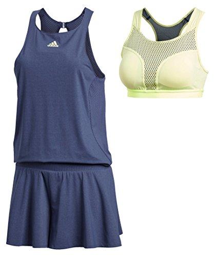 adidas Damen Melbourne Jumpsuit Kleid, Noble Indigo, L