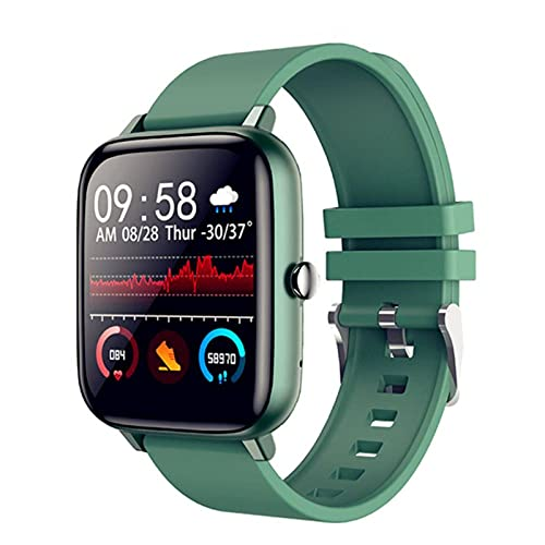 N\C Reloj Inteligente para Hombres Y Mujeres, Llamada Bluetooth, Ejercicio TáCtil Completo, Frecuencia CardíAca, Rastreador De Ejercicios, Reloj para Android iOS