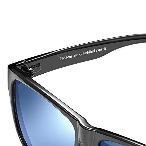 PILESTONE TP-020 Farbenblinde Brillen für Rot / Grün Farbenblinde für milde bis starke Deutan-Farbenblindtypen