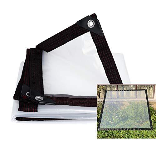SHIJINHAO Lonas Impermeables Exterior Las Lonas Transparentes Balcón Cubierta De La Lluvia Artefacto Impermeable Espesar Transparente A Prueba De Lluvia Del Paño Plástico Encerado Del Patio Al Aire Li