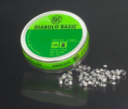 RWS Diabolo Basic Line 4,5 mm, 500 Schuss