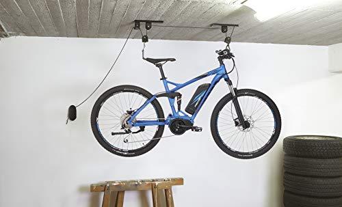 Fischer ProfiPlus Soporte para bicicleta, Unisex adulto, Soporte para bicicleta., 50386, Negro , 30 kg