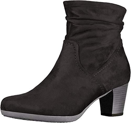 Gabor Damen Ankle Boots 94.683,Frauen Stiefel,Ankle Boot,Halbstiefel,Damenstiefelette,Bootie,knöchelhoch,Blockabsatz 5cm,Einlegesohle,F Weite (Normal),schwarz,UK 5.5