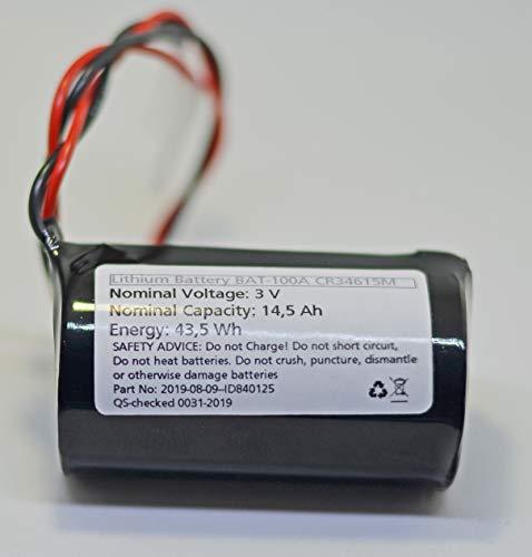 Ersatzbatterie für Jablotron BAT-100A / JA-163A Wireless Outdoor...