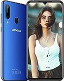 DOOGEE N20 2019 Android 9.0 Smartphone ohne Vertrag, Octa-Core 4GB RAM 64GB ROM, 4G Handy Dual SIM 6,3 Zoll FHD+Full Screen, 16 MP+8 MP+8 MP+16 MP Kamera, 4350 mAh Face ID Fingerabdruck, Blau