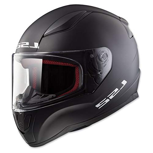 LS2 Helmets Full Face Rapid Street Helmet (Matte Black - 2X-Large)