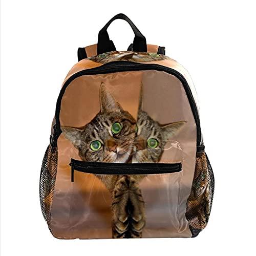 Zaino leggero per bambini a forma di cucciolo di gatto, robusto e casual, 25,4 x 10 x 30 cm, 9, 25.4x10x30cm,