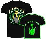 Foreverdai Camiseta Fan Art Os traigo Amor- Brilla en la Oscuridad -...