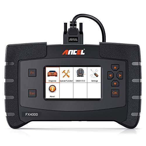 ANCEL FX4000 All System Automotive OBD2 Scanner Car Code Reader Vehicle OBDII Diagnostic Scan Tool for Check Engine ABS SRS Transmission EPB ESP SAS TPMS
