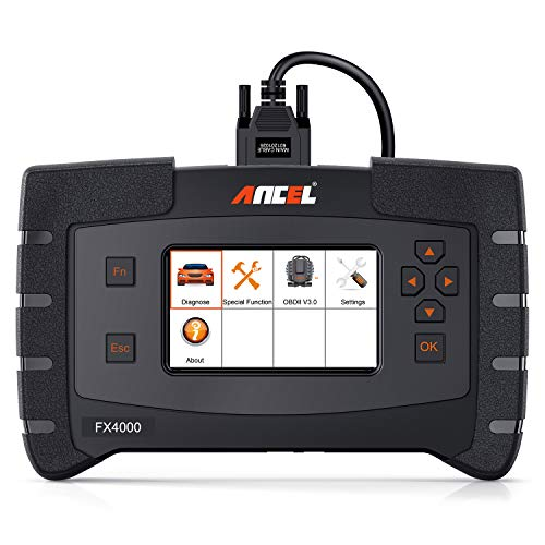 ANCEL FX4000 All System Automotive OBD2 Scanner Car Code Reader Vehicle OBDII Diagnostic Scan Tool for Check Engine ABS SRS Transmission EPB ESP SAS TPMS