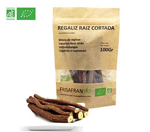 FRISAFRAN - Regaliz de palo Ecologico certificado - 100Gr.