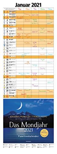 Das Mondjahr 2021: Familienkalender - Mit Fotos von Gerhard Eisenschink - Das Original