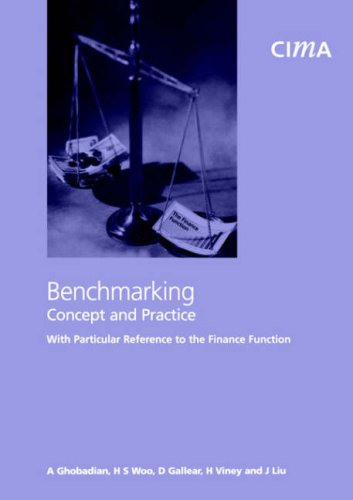 Benchmarking- Concept and Practice with Particular Reference to the Finance Function (Cima Research)