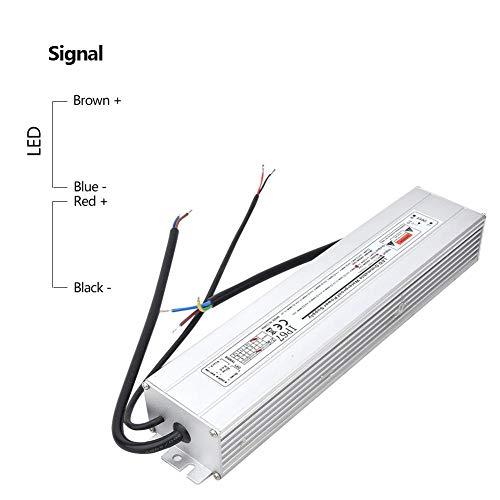 Fuente de alimentación LED, 12V 100W IP67 Transformador a prueba de agua LED Fuente de alimentación…
