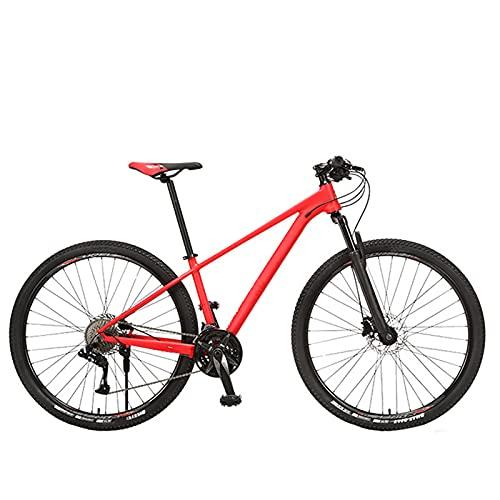 KJWXSGMM Bicicleta De Montaña para Adultos, Ruedas De 29 Pulgadas Bicicleta para Adultos, Bicicleta De 27 Velocidades/De 30 Velocidades para Hombres Y Mujeres,B,27 Speed