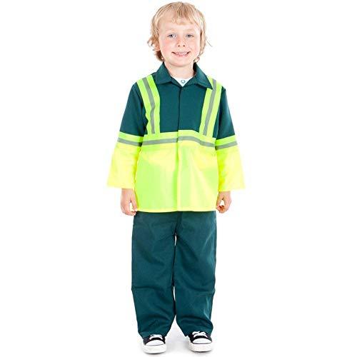 Kids - Disfraz de medico para niño, talla 5-7 años (5060251121379)