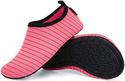 slam scarpe Unisex Scarpe da Immersione Uomo Scarpette Scogli Donna Scarpe da Acqua Traspirante Leggere Antiscivolo Sportive Acquatici Nuotata Spiaggia Surf Spiaggia Corsa