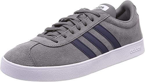 adidas VL Court 2.0 ,  Zapatillas Unisex Adulto,  Gris (Grey Four F17/Collegiate Navy/FTWR White),  43 1/3 EU
