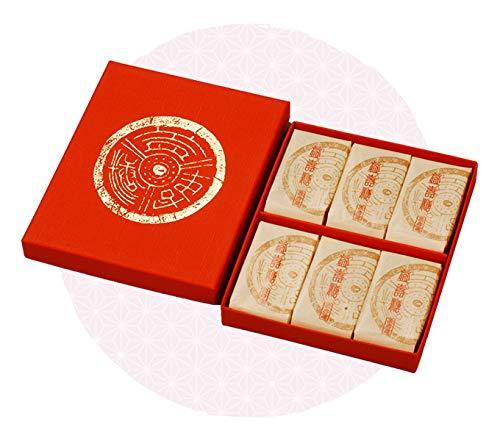 京菓子 仙菓 益壽糖 化粧箱 3枚×6袋(18枚)