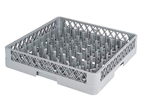 heyChef - Teller-Korb, 50 x 50 cm - mit 64 Fingern | Spülkorb für die Gastro Spülmaschine | Weitere Spülkörbe direkt auswählbar