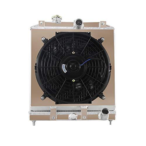 honda 3 row aluminum radiator - 2