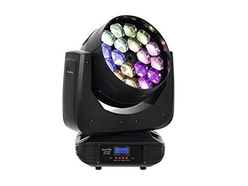 EUROLITE 51785957 Effetto Luce Light Testa Mobile Beam Moving Head DMX 512 Tmh Fe-1800, Multicolore, Taglia Unica