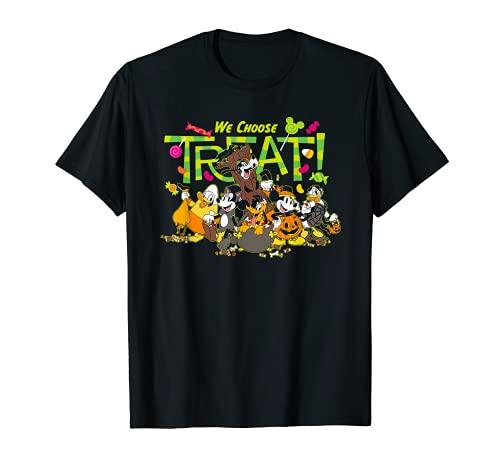 Disney Mickey and Friends We Choose Treat Halloween T-Shirt