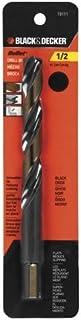 Black & Decker 19111Bullet Drill Bit, 1/2Pulgadas