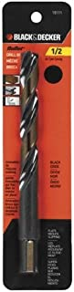 BLACK+DECKER 19111 Bullet Drill Bit, 1/2-Inch