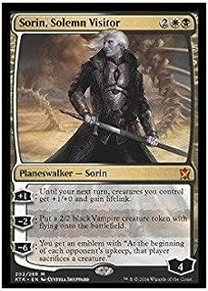 Magic: The Gathering - Sorin, Solemn Visitor (202/269) - Khans of Tarkir