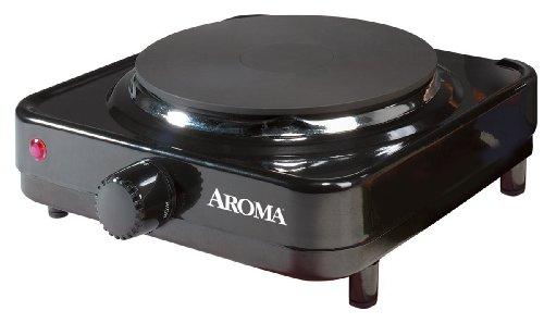 Aroma Housewares AHP-303/CHP-303 Single Hot Plate,...