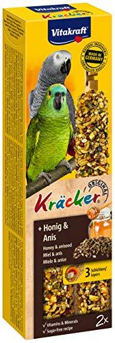 Vitakraft Kräcker, Knabberstangen für Papageien mit Honig und Anis, 1 Stück