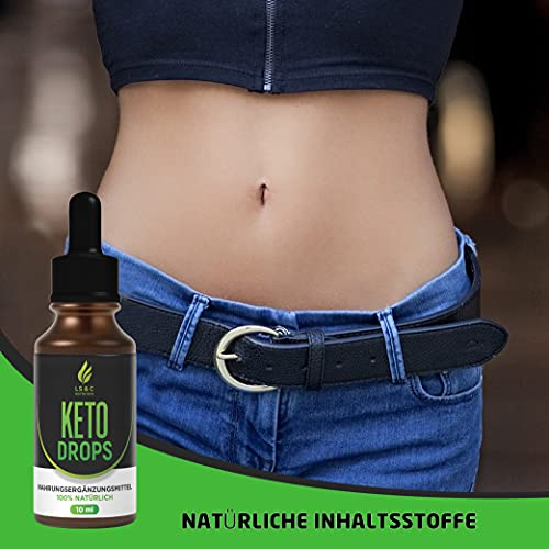 Keto Drops BURNER | Stoffwechsel | Ketogen Tropfen | Schnell, Einfach, EXTREM | Hochwertig | 10ml (3)